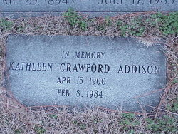 Kathleen Crawford Addison
