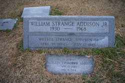 William Strange Addison, Sr