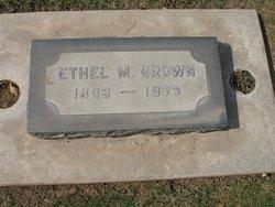 Ethel M <i>Gregory</i> Brown