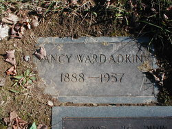 Nancy <i>Ward</i> Adkins