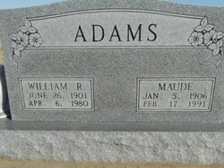 Maude <i>Patterson</i> Adams