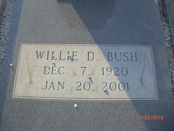 Willie D. Bush