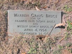 Warren Craig Bruce