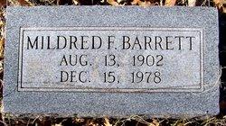Mildred Fay <i>Bangston</i> Barrett
