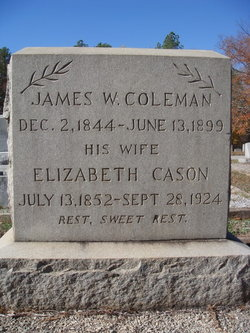 Eliz Pickett <i>Cason</i> Coleman