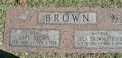 Lula <i>Stroud</i> Brown