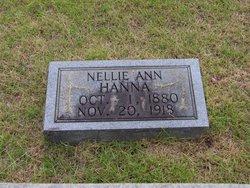 Nellie Ann <i>King</i> Hanna