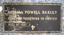 Norma Ellitia <i>Powell</i> Baxley