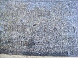 Carrie <i>Oliver</i> Barneby