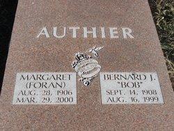 Margaret <i>Foran</i> Authier