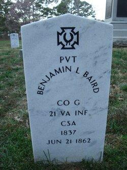 Pvt Benjamin L. Baird