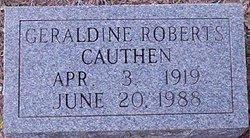 Geraldine <i>Pegoda</i> Cauthen