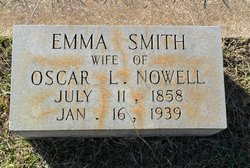 Mary Emma <i>Smith</i> Nowell