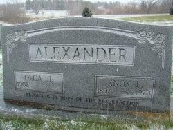 Olga <i>Nyberg</i> Alexander