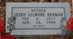 Lessie <i>Gilmore</i> Denman