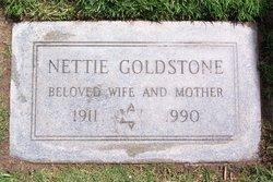 Nettie <i>Markowitz</i> Goldstone