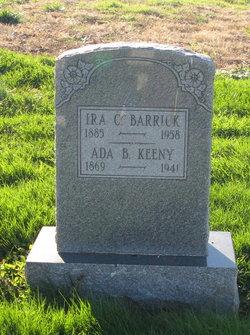 Ada B. <i>Keeney</i> Barrick