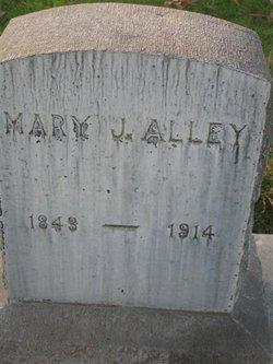 Mary Jane <i>Adams</i> Alley
