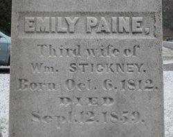Emily <i>Paine</i> Stickney