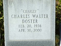 Charles Walter Doster