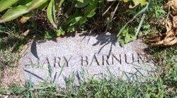 Mary B <i>Linn</i> Barnum