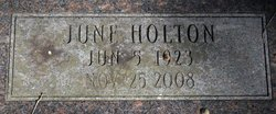 Alice June <i>Holton</i> Arnett