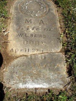 Mary Ann Eleanor <i>Law</i> Baird