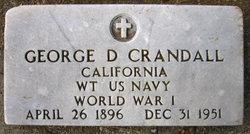 George Dewey Crandall