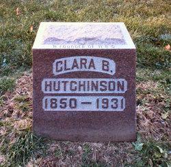 Clara Jane <i>Brownlee</i> Hutchinson