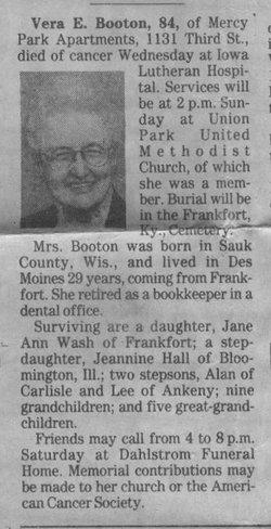 Vera Eloise <i>Holt</i> Booton