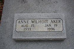 Anne <i>Wilhoit</i> Aker