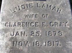 Ludie P <i>Lamar</i> Gray