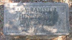 Ada <i>Ramseur</i> Henderson