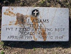 E. J. Adams