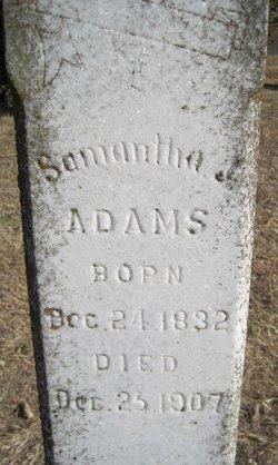 Samantha Jane <i>McKindley</i> Adams