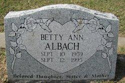 Betty Ann Albach