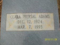 Clara <i>Piersal</i> Adams