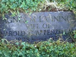 Agnes M <i>Lanning</i> Appenzellar