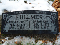 Sarah Ann <i>Shepherd</i> Fullmer