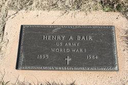 Henry A. Bair
