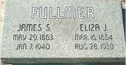 Elisa (Eliza) Jane <i>Curtis</i> Fullmer