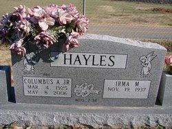 Columbus Adrian Hayles, Jr