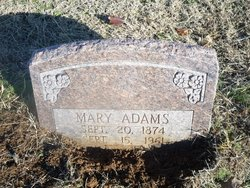 Mary Isabelle <i>Cook</i> Adams