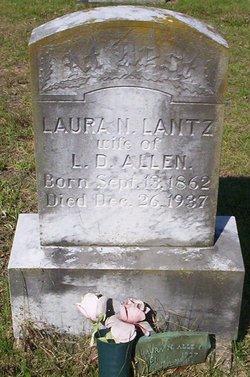 Laura N. <i>Lantz</i> Allen