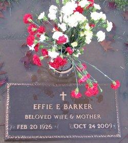 Effie Ellen <i>Rhoads</i> Barker