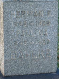 Herman F Bahlke