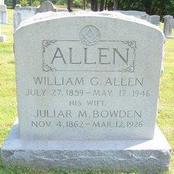 Juliar M <i>Bowden</i> Allen