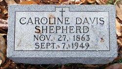 Caroline <i>Davis</i> Shepherd