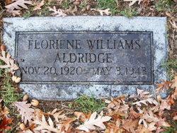 Floriene <i>Williams</i> Aldridge