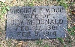 Virginia F. <i>Wood</i> McDonald